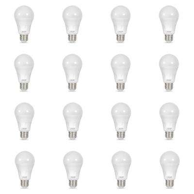 40-Watt Equivalent A19 Dual Mode Laser and Soft White LED Light Bulb, Red (12-Pack)