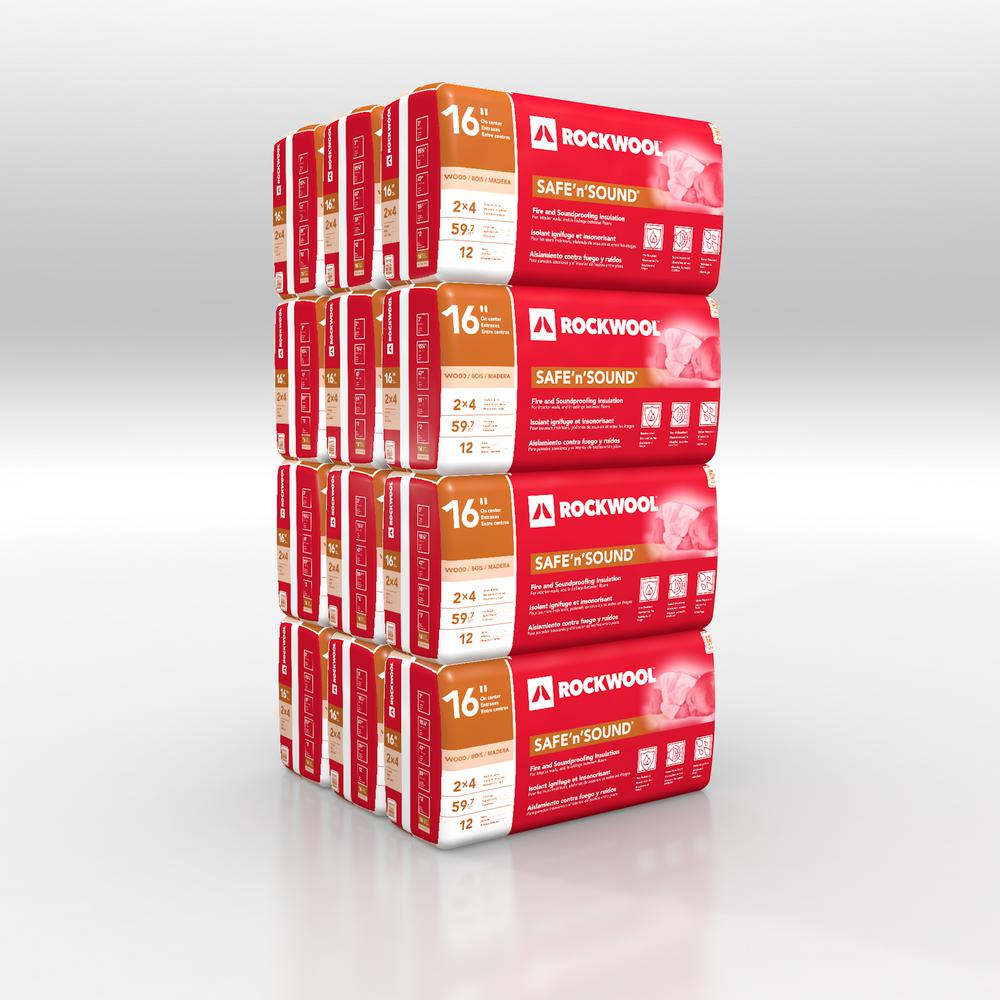 Rockwool Safe N Sound 3 In X 15 1 4