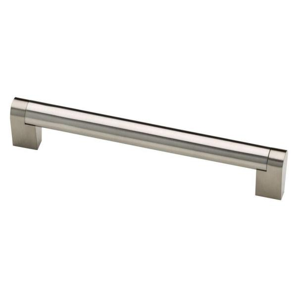 Stratford 6-5/16 in. (160 mm) Center-to-Center Stainless Steel Bar Drawer Pull