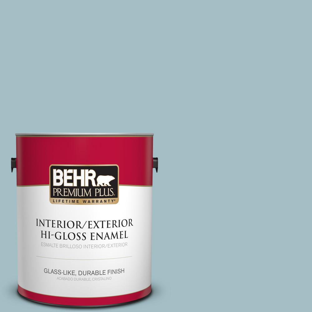 1 gal. #PPU13-11 Clear Vista Hi-Gloss Enamel Interior/Exterior Paint