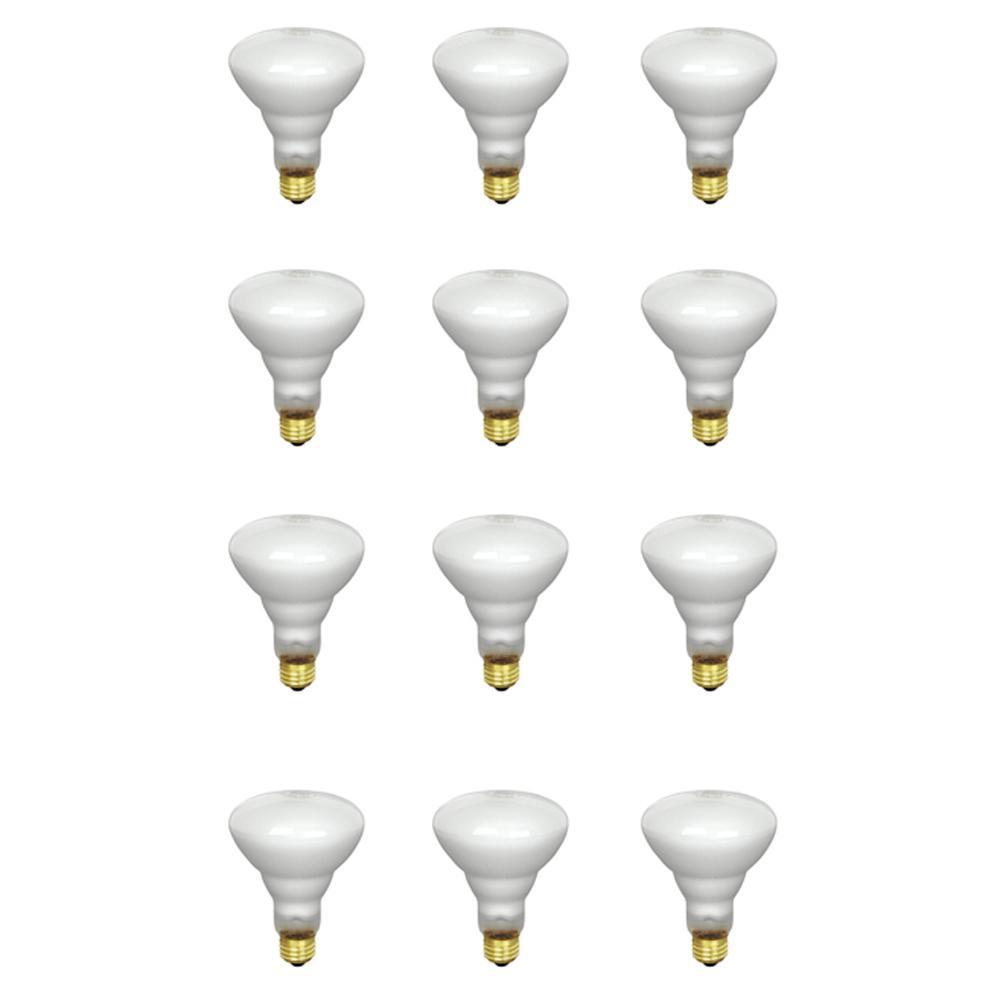 65-Watt Soft White Dimmable Incandescent BR30 Flood Light Bulb Maintenance Pack (12-Pack)