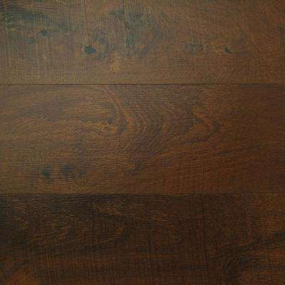 Aged Mahogany 6 in. x 36 in. Glue Down Vinyl Plank Flooring (36 sq. ft. / case)