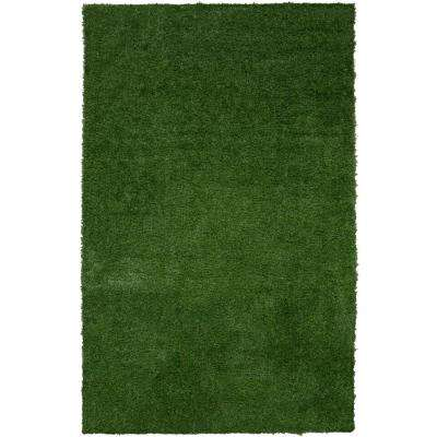 Garden Grass Collection 3 ft. x 5 ft. Artificial Grass Synthetic Lawn Turf Indoor/Outdoor Area Rug
