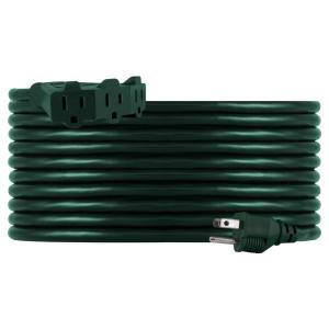 25 ft. Cord 16-Gauge 3-Conductor 3 Outlet Outdoor Extension Cord
