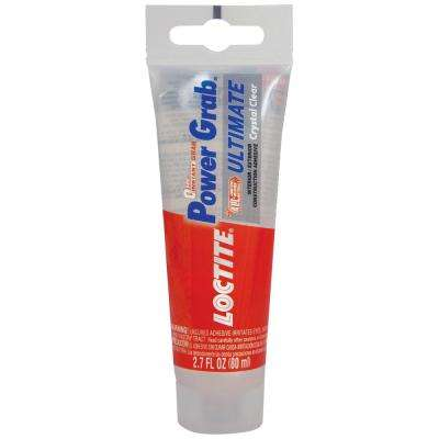 Power Grab Ultimate Crystal Clear 2.7 fl. oz. Construction Adhesive