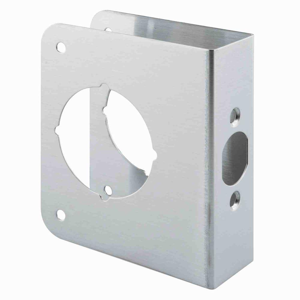 Prime-Line Stainless Steel Door Guard Plate-U 9589 - The Home Depot