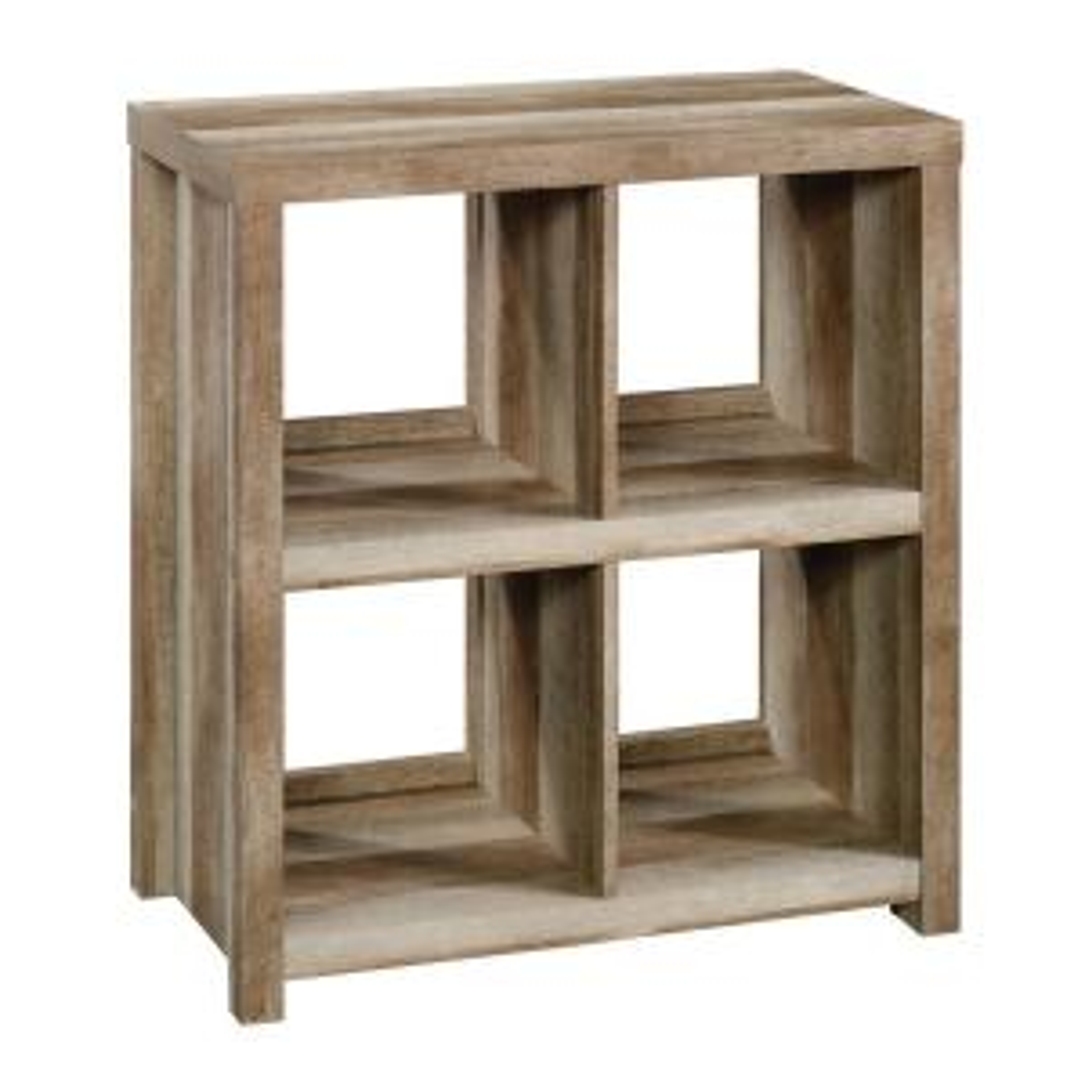 HomeVisions Lintel Oak 4-Cube Bookcase