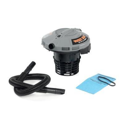 5 Gal. 1.75-Peak HP Wet/Dry Shop Vacuum Powerhead with Filter Bag and Hose (compatible with 5 Gal. Homer Bucket)