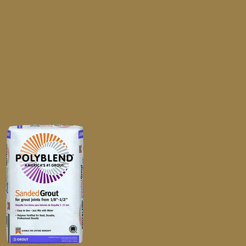 Polyblend #45 Summer Wheat 25 lb. Sanded Grout