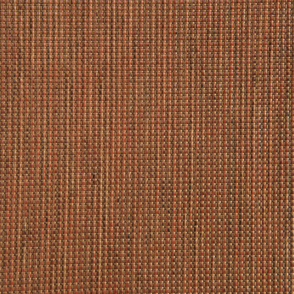 Hampton Bay Woodbury Cashew Patio Ottoman Slipcover (2-Pack)