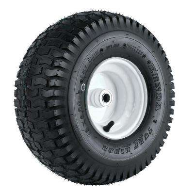 K358 15X600-6 Tire Mounted on 6 in. Wheel with 3-1/4 in. Hub and 3/4 in. Bore