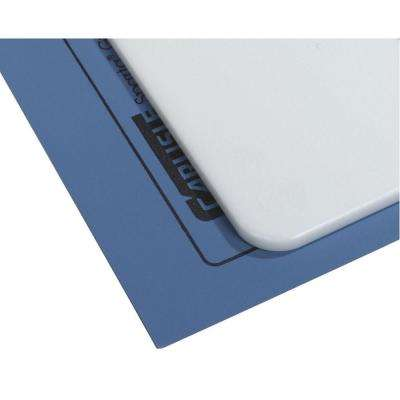 Rubber Blue Cutting Board Mat (6-Pack)