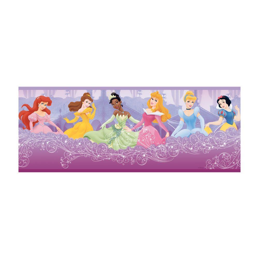 Kids Perfect Princess Wallpaper Border