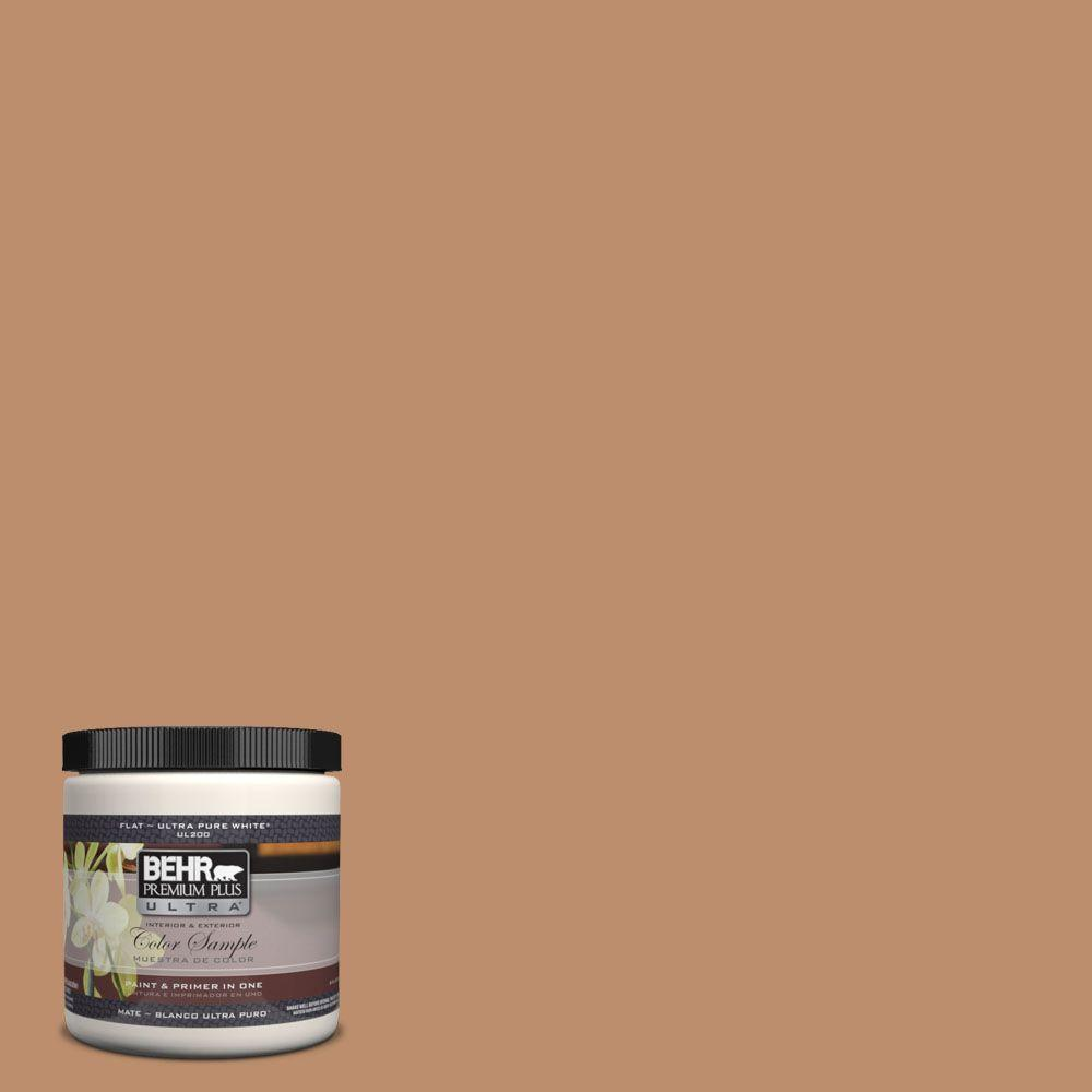 BEHR Premium Plus Ultra 8 oz. #260F-5 Applesauce Cake Interior/Exterior Paint Sample
