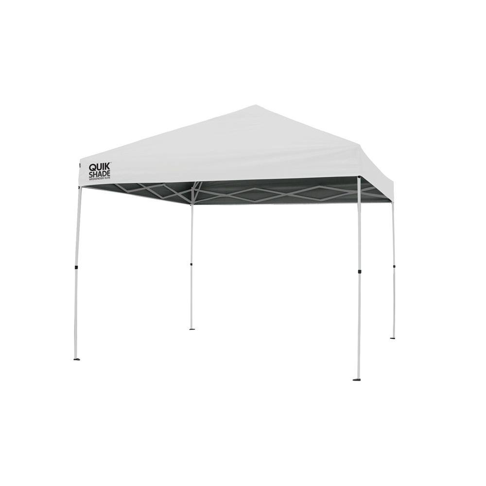 Quik Shade Weekender Elite 10 ft. x 10 ft. White Instant Canopy  sc 1 st  Home Depot & Quik Shade Weekender Elite 10 ft. x 10 ft. White Instant Canopy ...