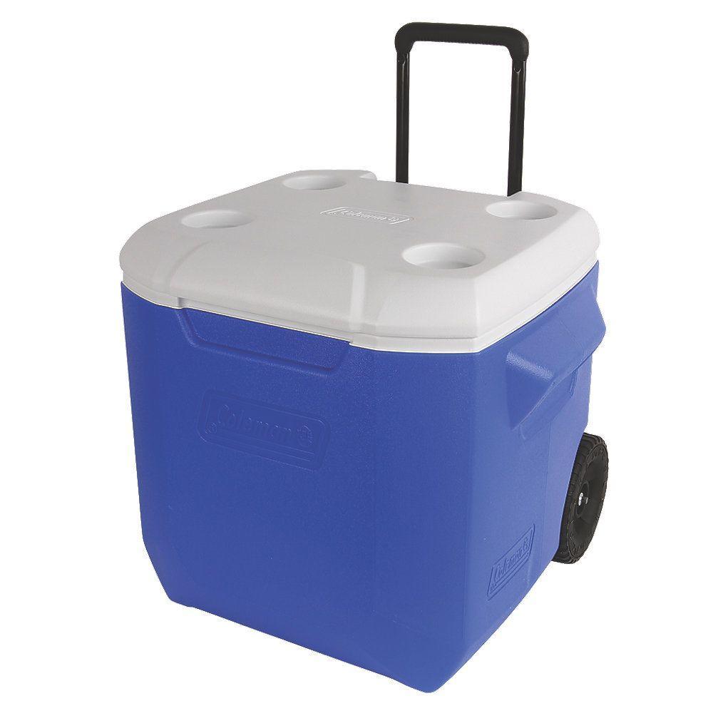 Coleman 45 Qt. Blue Performance Wheeled Cooler