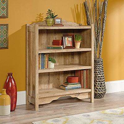 Viabella Collection Antigua Chestnut 3-Shelf Bookcase