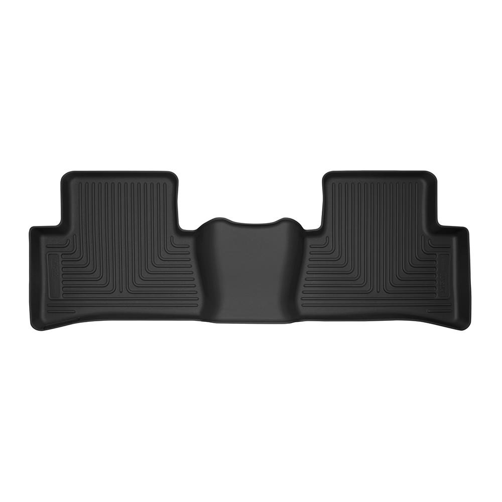 Fits 18-18 C-HR Husky Liners 52451 Black 2nd Seat Floor Liner