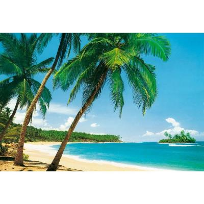 100 in. x 144 in. Ile Tropicale Wall Mural