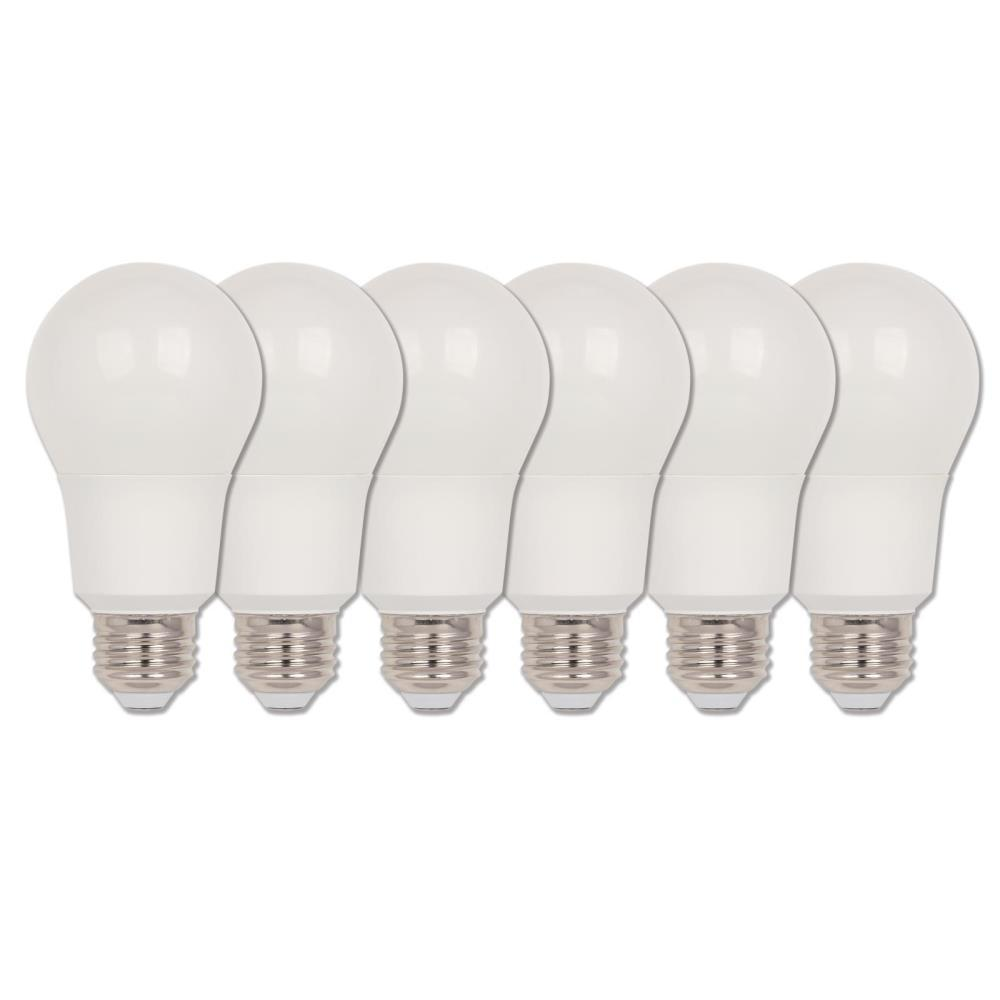 Westinghouse 40-Watt Equivalent Omni A19 Dimmable ENERGY STAR LED Light Bulb Bright White (6-Pack)
