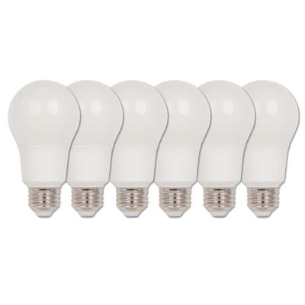 40-Watt Equivalent Omni A19 Dimmable ENERGY STAR LED Light Bulb Bright White (6-Pack)