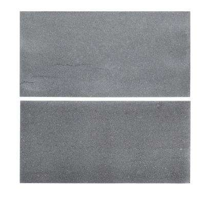 6 in. x 12 in. Honed Basalt Field Wall Tile (2-Pieces / Pack)