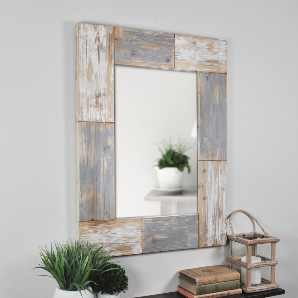 Mason Planks Wall Mirror