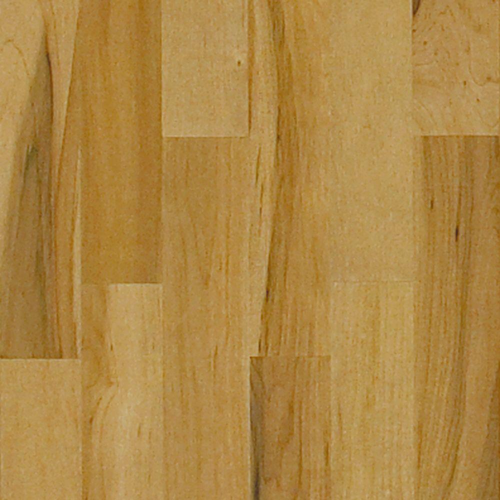 Millstead Take Home Sample - Maple Latte Solid Hardwood Flooring - 5 in. x 7 in.