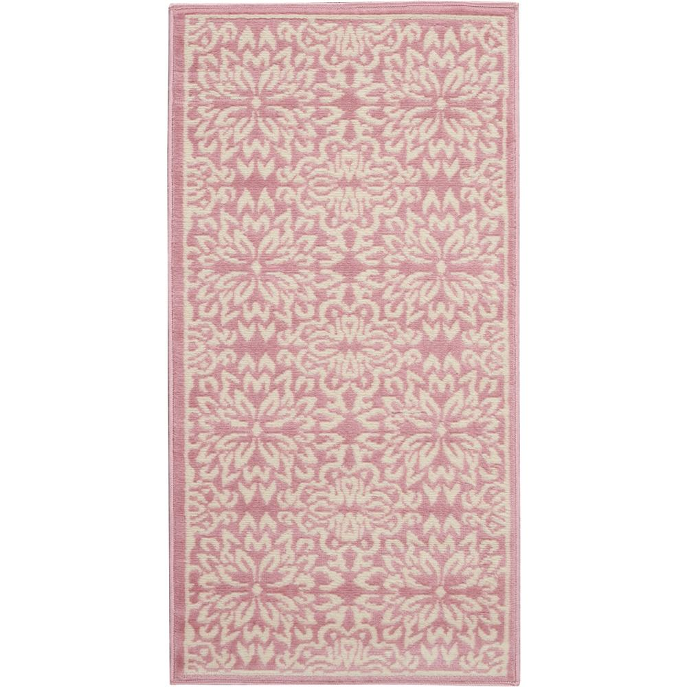 Nourison Jubilant 2' X 4' Small Pink Floral Area Rug
