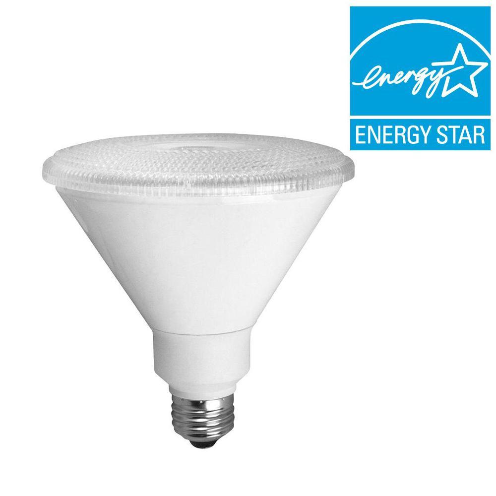 TCP 90W Equivalent Soft White (3000K) PAR38 LED Light Bulb (2-Pack)