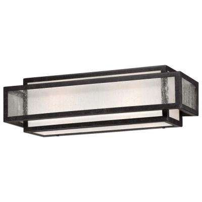 2-Light Aged Charcoal Bath Light