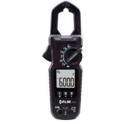 Professional 400 Amp True RMS ClAmp Meter with Accu-Tip, Voltage and Temperature Measurements