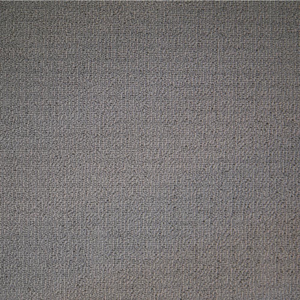 Wildly Popular I - Color Alder Textured Loop 12 ft. Carpet