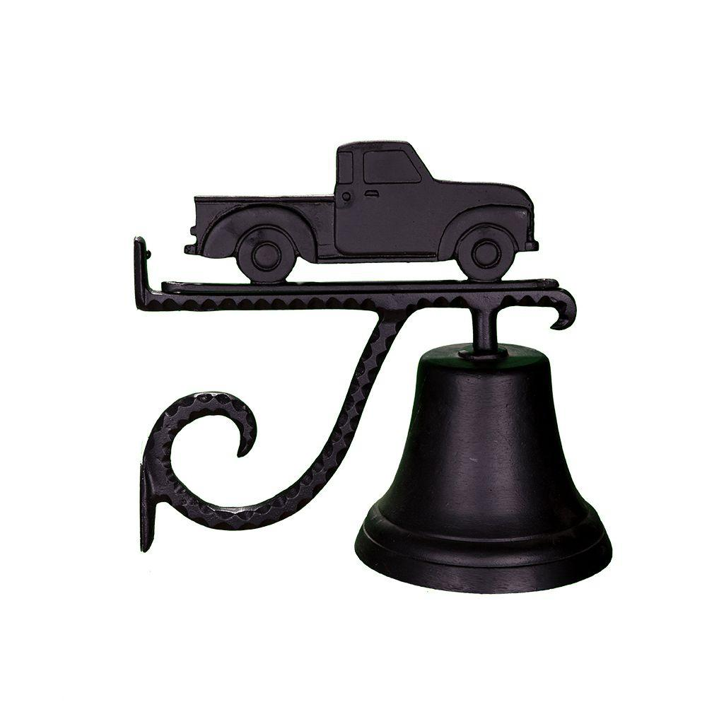 Cast Bell with Black Classic Truck Ornament