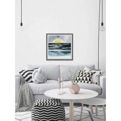 "32 in. H x 32 in. W ""Seaside Mist II"" by Marmont Hill Framed Wall Art"