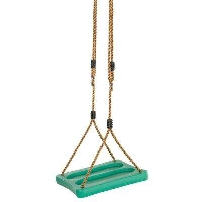 One Of A Kind Standing Swing With Adjustable Ropes - Fully Assembled - Green