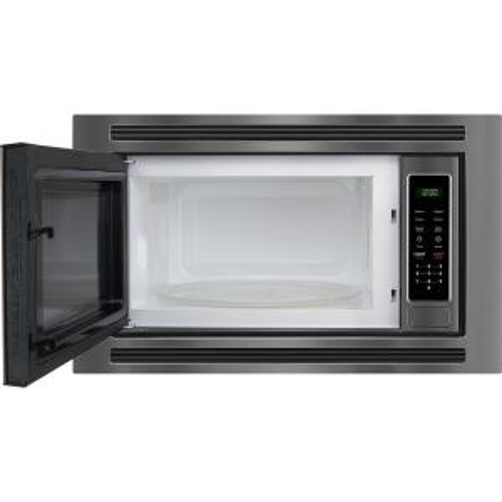 So Sku 1002683583 5 Frigidaire Gallery 2 0 Cu Ft Built In Microwave Black Stainless Steel