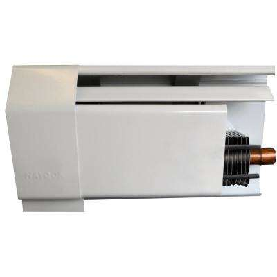 Heat Base 750 6 ft. Fully Assembled Enclosure and Element Hydronic Baseboard