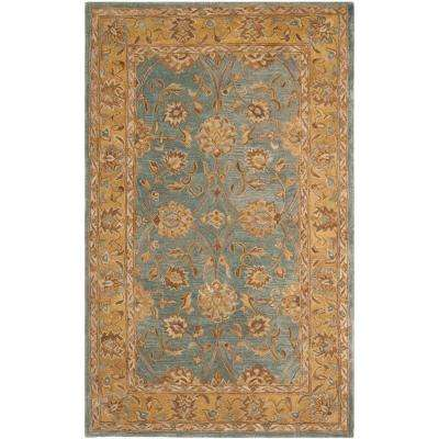 Anatolia Blue/Green 5 ft. x 8 ft. Area Rug