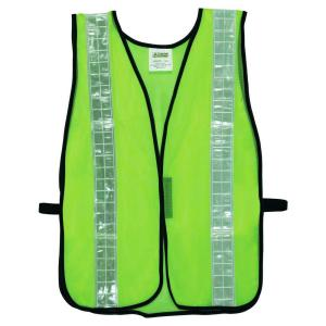 Cordova High Visibility Lime Green Mesh Safety Vest (One Size Fits All) by Cordova