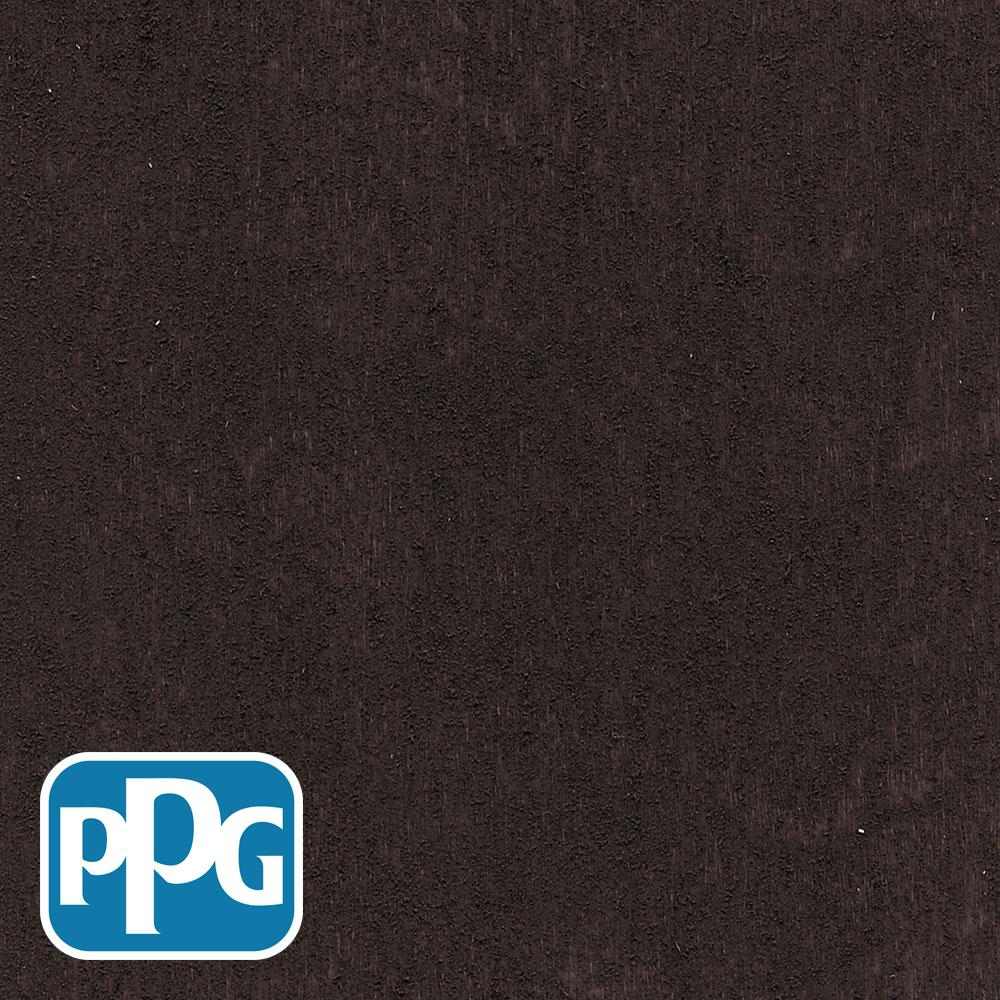 PPG TIMELESS 8 oz. TSS-48 Ebony Semi-Solid Penetrating Oil Exterior Wood Stain