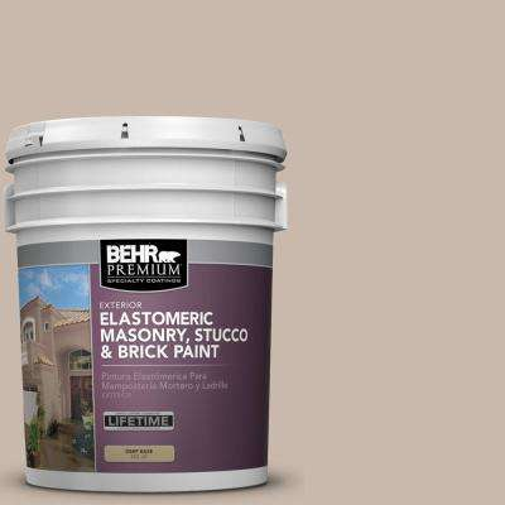 5 gal. #N230-3 Armadillo Elastomeric Masonry, Stucco and Brick Exterior Paint