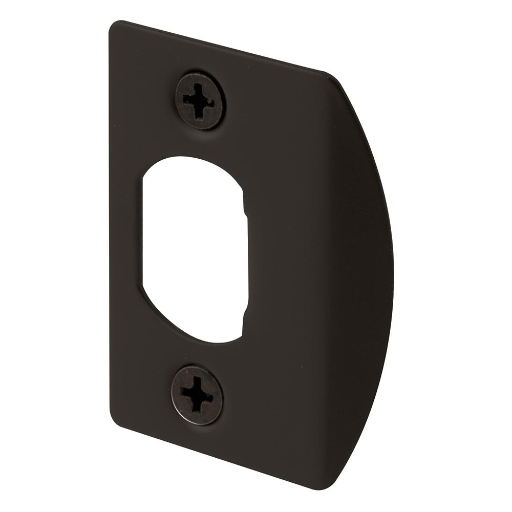 Bronze Standard Latch Strike Plates (2-Pack)