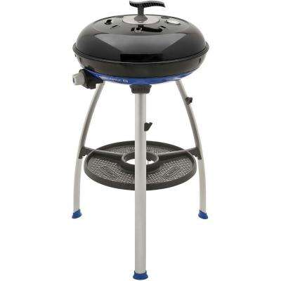 Carri Chef 2 Portable Propane Gas Grill with Pot Stand, Griddle and Split Grill Top