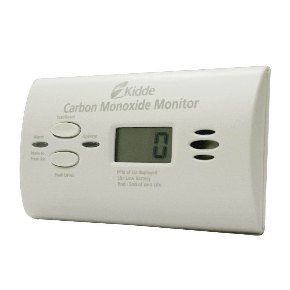 Kidde KN-COU-B Ultra-Sensitive Battery Powered Carbon Monoxide Monitor by Kidde