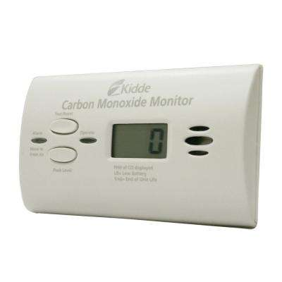 Ultra Sensitive Battery Operated Carbon Monoxide Detector with Digital Display