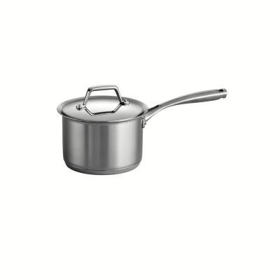 Gourmet Prima 2 qt. Stainless Steel Sauce Pan with Lid