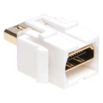HDMI Keystone Snap-In Wall Plate Coupler