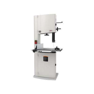3 HP 18 in. Woodworking Vertical Band Saw, 230-Volt, 2-Speed, JWBS-18-3