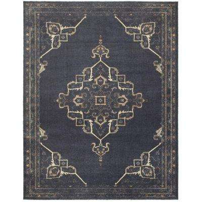 Antiquity Blue 8 ft. x 10 ft. Area Rug